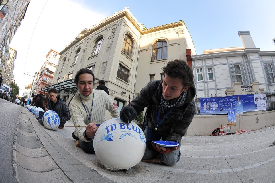Íznik and Delft Blue for Istanbul
