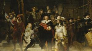Nachtwacht - Rembrandt still